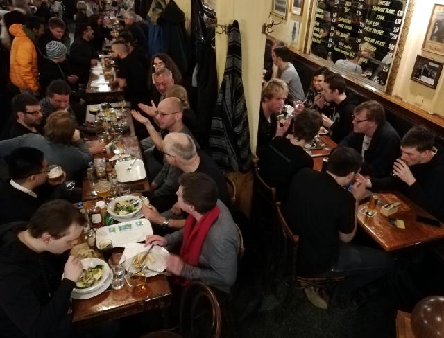 FOSDEM PINE64 Dinner 2019