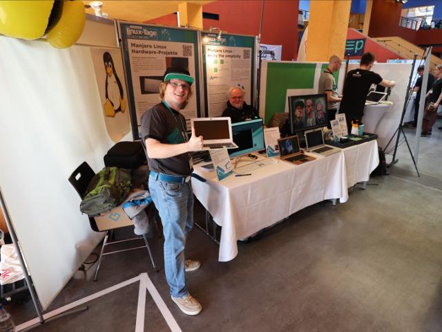 Manjaro Devs at Linux-Tage 2019