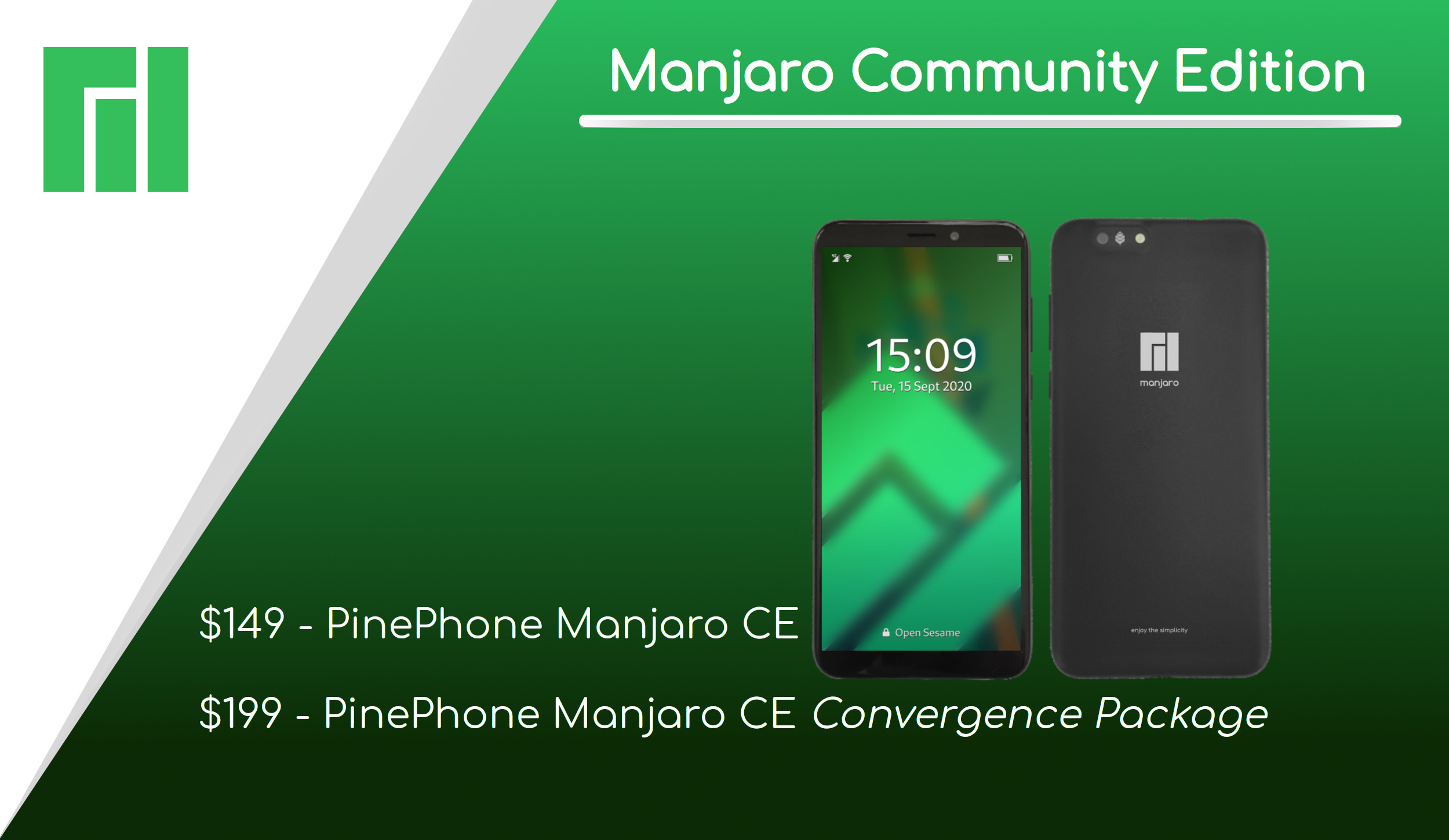 PinePhone Manjaro Community Edition | PINE64 thumbnail