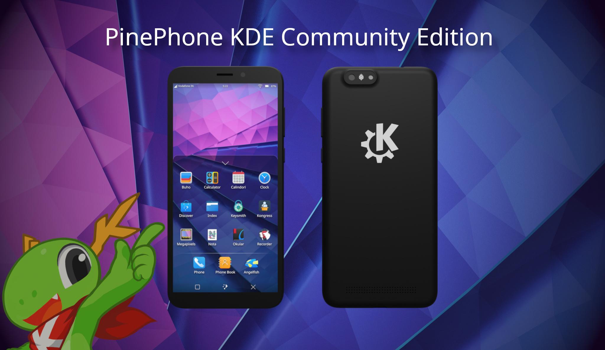 Attivati i preordini del PinePhone KDE Community Edition